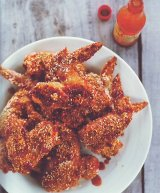 crunchy sesame chicken wings