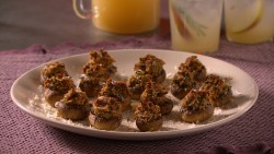 Mad Hungry Stuffed Mushrooms