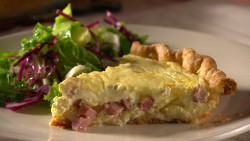 Mad Hungry Ham Quiche