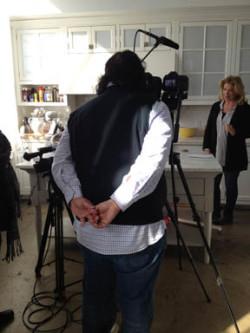 Lucinda Crowdrise Behind The Scenes
