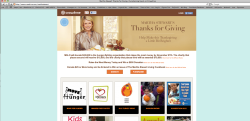 Martha Stewart's Thanks for Giving